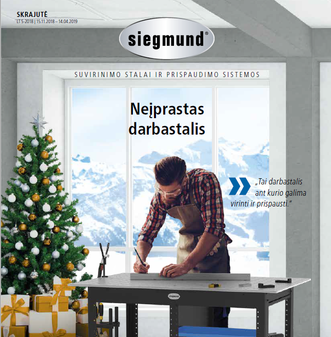 """""""Siegmund"""" prekių katalogas"""
